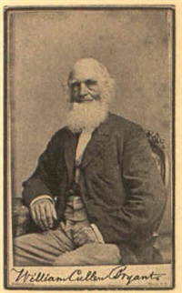 seated portrait of william cullen bryant by jeremiah gurney