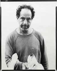 robert frank, photographer, mabou mines, nova scotia, july 17, 1975 by richard avedon