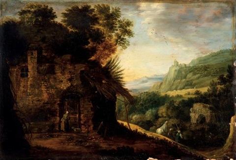 paysage by joos de momper the younger