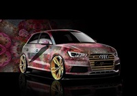 life ball audi s1 by david lachapelle