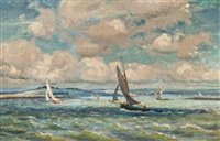 sailing of the british coast by alice maud fanner