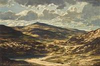 welsh landscape by claude muncaster