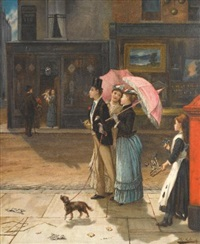 our good natured cousin by augustus edwin mulready