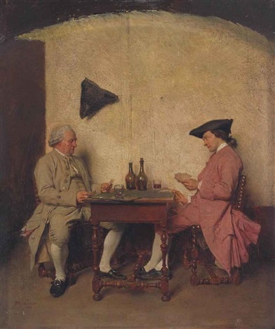 the card players by jean louis ernest meissonier