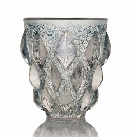rampillon vase no 991 by rené lalique