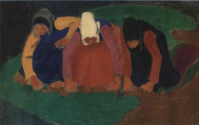 les ramasseuses de pommes de terre by georges rasetti