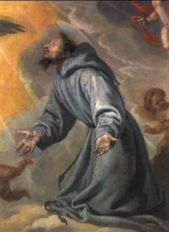 der heilige franziskus in ekstase by bartolome carducho carducci