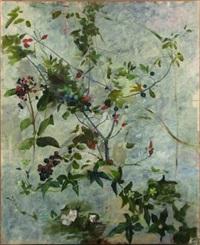 baies et fleurs (study) by gustave bienvetu
