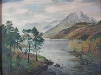 loch affric by george melvin rennie