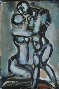noces by georges rouault