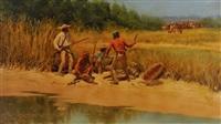 trouble on the rio del norte by harvey william (bud) johnson