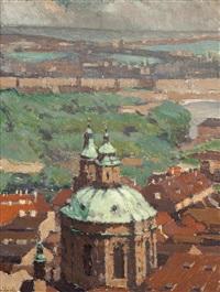 dächer auf der kleinseite by vilem kreibich
