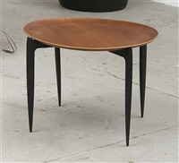folding side table, model no. 4508 by engholm & willumsen