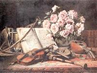 a musical still life by charles antoine joseph loyeux