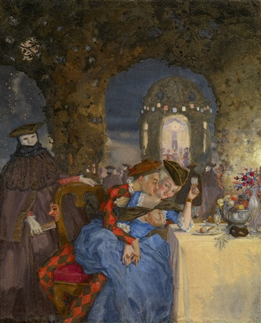 rendezvous by konstantin andreevich somov