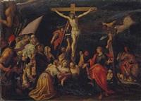 crucifixion by hans von aachen