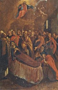the assumption of the virgin by nikolaos koutouzis