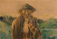 góral z fajką by adam dobrowolski