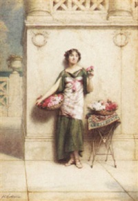 the rose girl by alfred c. weatherstone