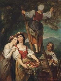 la raccolta delle mele by alexandre markelbach