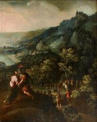 la rencontre de saint pierre et du centurion by paolo fiammingo dei franceschi