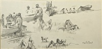 summer, greystones by maurice macgonigal