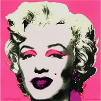 marilyn monroe: castelli graphics invitation by andy warhol