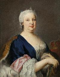 ritratto di maria barbara di bra- by jacopo amigoni