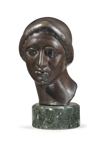 ideal head by elie nadelman