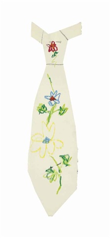 a design for a tie with flowers by pablo picasso