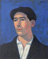 autoportrait by georges ascher