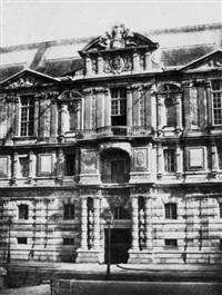 pavilion de la bibliothèque du louvre by francois alphonse fortier