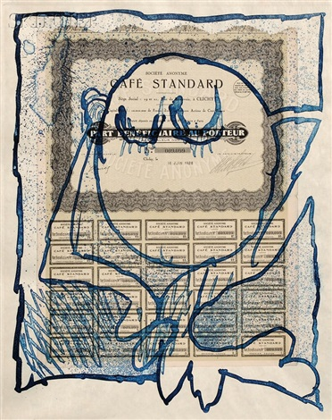 krach portfolio w5 works by pierre alechinsky