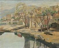 terracina set fra kanalen by johan rohde
