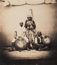 orchestre de noirs algériens by jean baptiste alary