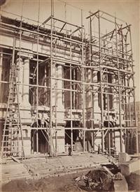 vue de la façade principale by louis emile durandelle