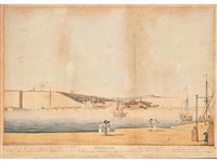a view of ramsgate by john holl