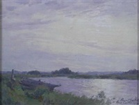 a quiet stretch of the river by percival gaskell