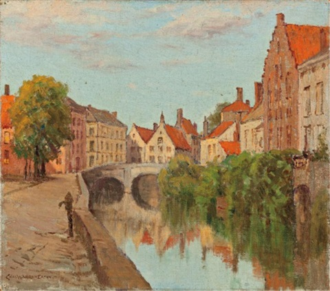 dutch canal by charles warren eaton