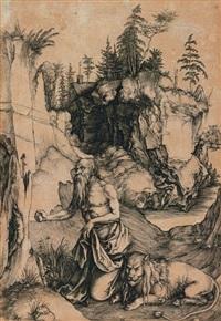 saint jerome en penitence by albrecht dürer