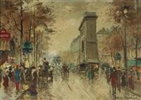 la porte saint denis by antoine blanchard