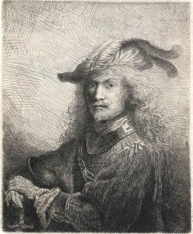 portrait of an officer self portrait by ferdinand bol