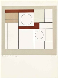 squares and circles by ben nicholson