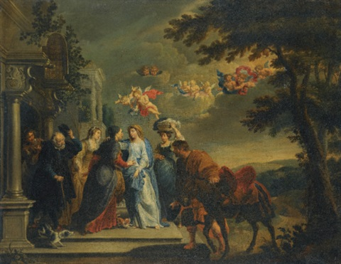 the visitation by willem van herp the elder
