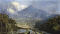 vulkanlandscaft auf jawa by soerjosoebroto abdullah