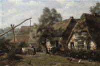 the villager well by hendrik gerard ten hoet