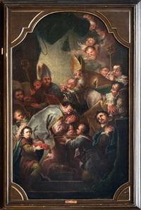 svatý metoděj křtí knížete bořivoje by ignaz joseph raab