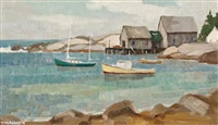 hackett's cove by tom roberts