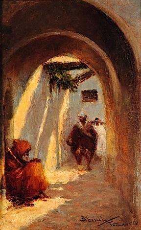 ruelle animée à tétuan maroc by felipe barantes abascal
