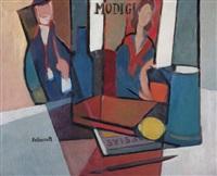homenaje a modigliani by alberto delmonte